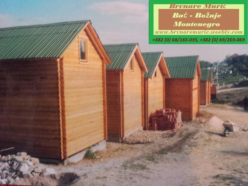 Cjenovnik - Cenovnik - Brvnare Muric, Brvnare, Vikendice